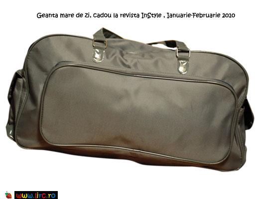 Modelul 3 de geanta mare de zi, cadou la InStyle de Ianuarie-Februarie 2010