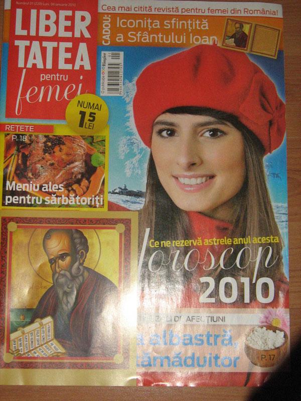 Libertatea pentru femei ~~ 4 Ianuarie 2010