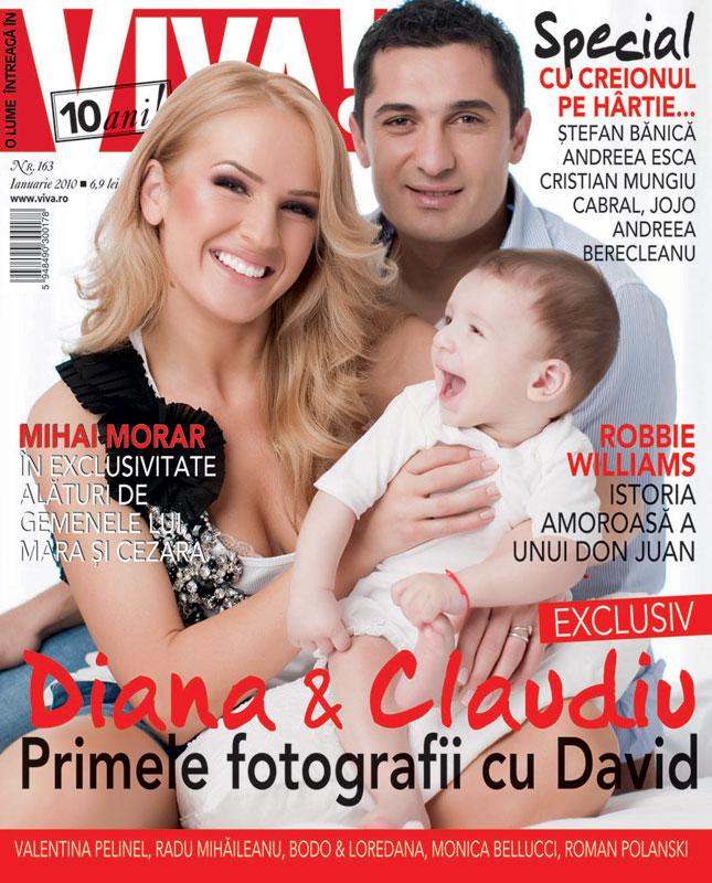 Viva! ~~ Coperta: Diana si Claudiu Niculescu, impreuna cu fiul lor David ~~ Ianuarie 2010