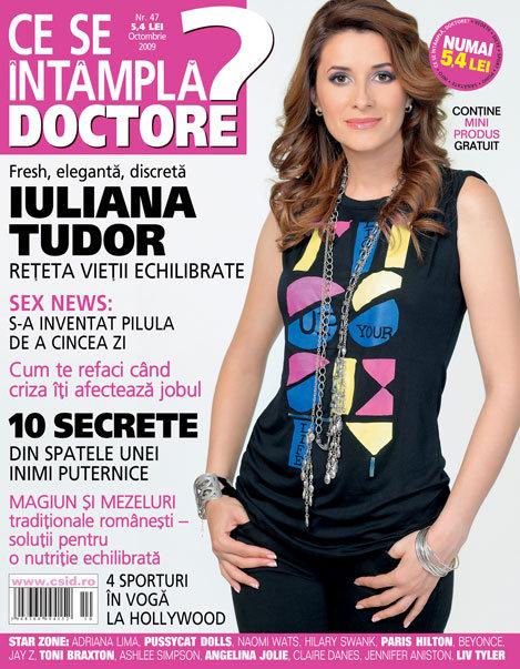 Ce se intampla, Doctore? ~~ Iuliana Tudor ~~ Octombrie 2009