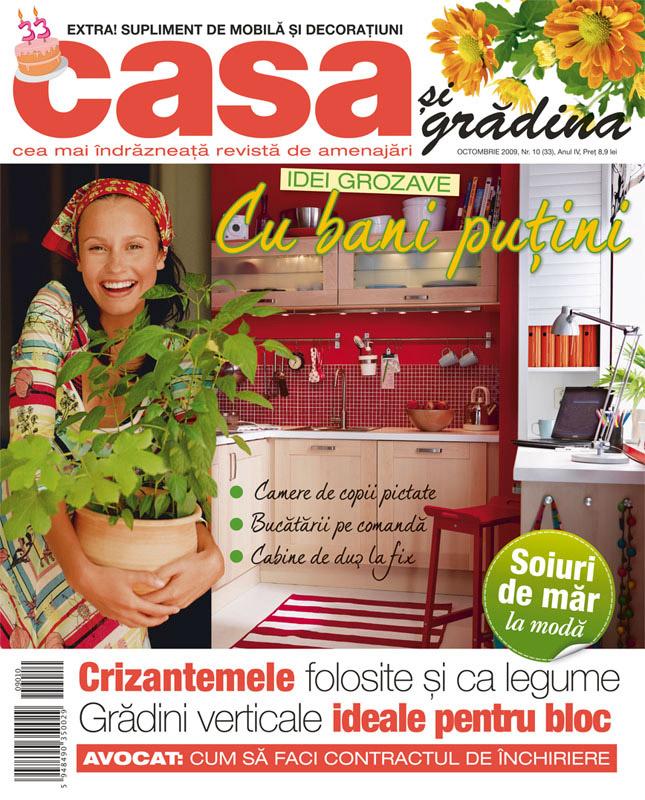 Casa si Gradina ~~ Numar aniversar 3 ani ~~ Octombrie 2009
