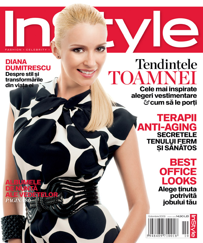 InStyle ~~ Diana Dumitrescu ~~ Octombrie 2009