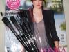 Marie Claire Romania ~~ Set 6 pensule pentru machiaj ~~ Octombrie 2009