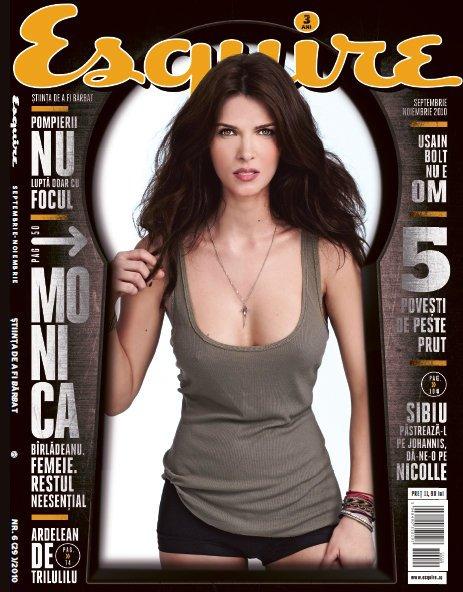 Esquire Romania ~~ Coperta: Monica Birladeanu ~~ Septembrie-Noiembrie 2010