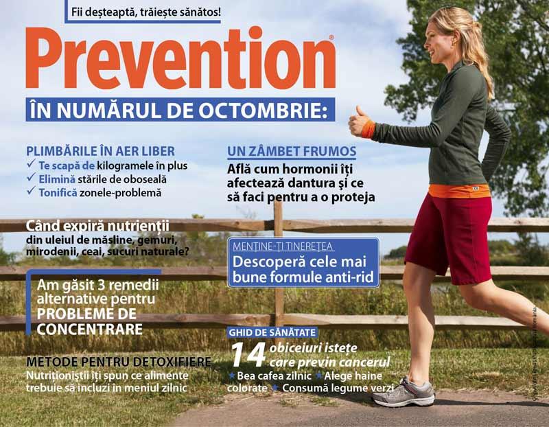 Prevention ~~ Cateva titluri ale editiei de Octombrie 2010