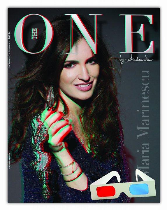 The One ~~ Coperta si pictorial 3D ~~ Coperta: Maria Marinescu ~~ Octombrie 2010