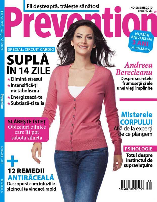 Prevention Romania ~~ Coperta: Andreea Berecleanu ~~ Noiembrie 2010