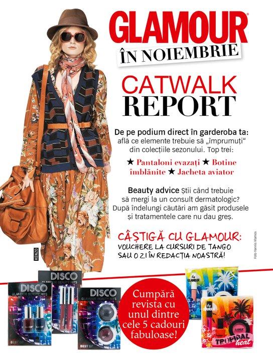 Promo Glamour de Noiembrie 2010