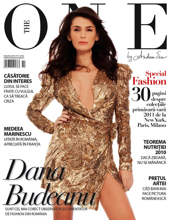 The One ~~ Cover girl: Dana Budeanu ~~ Noiembrie 2010