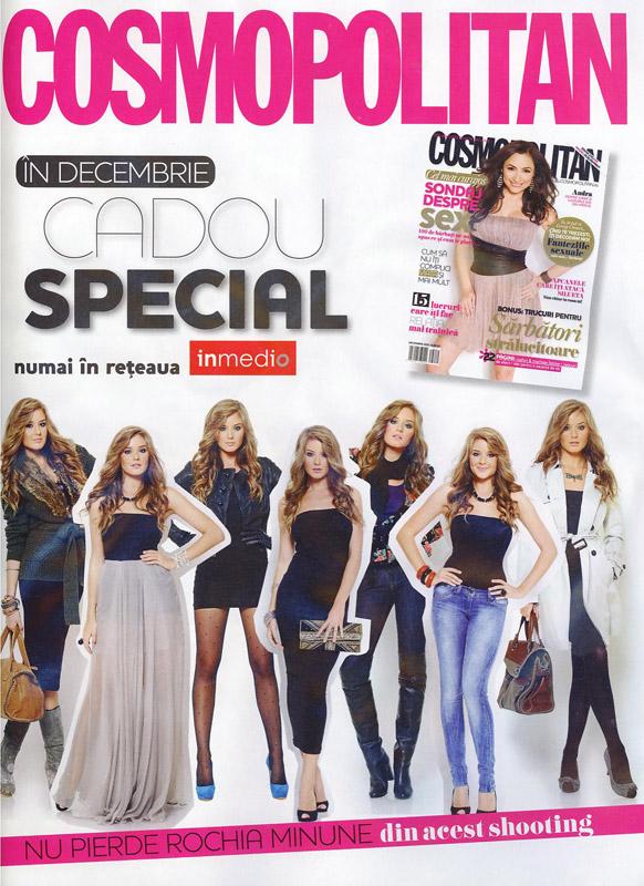Promo Cosmopolitan de Decembrie 2010