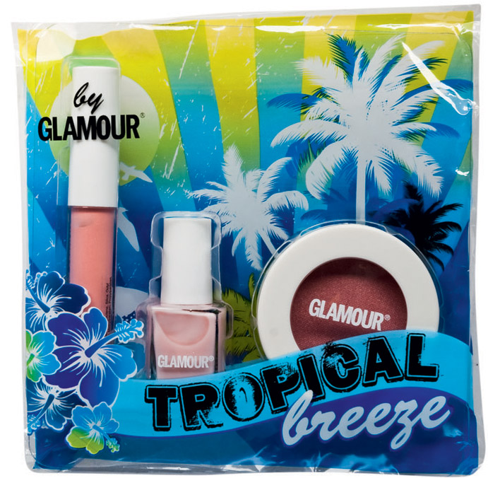 Set cosmetice make-up Tropical Breeze by Glamour ~~ Decembrie 2010