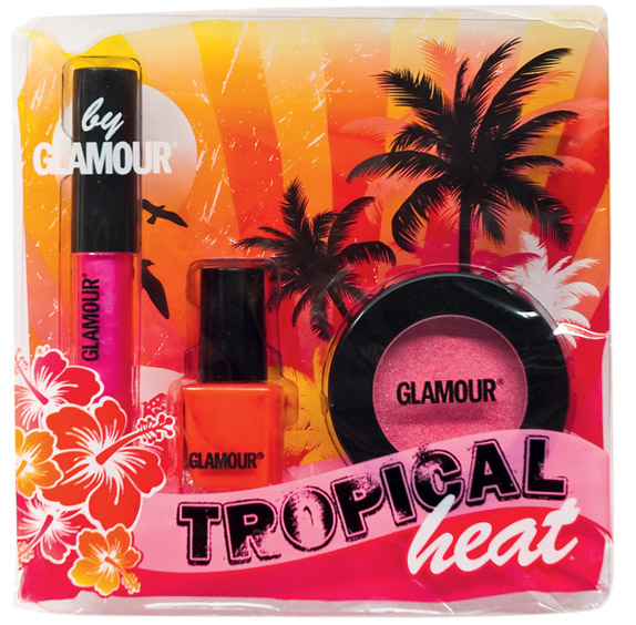 Set cosmetice make-up Tropical Heat by Glamour ~~ Decembrie 2010