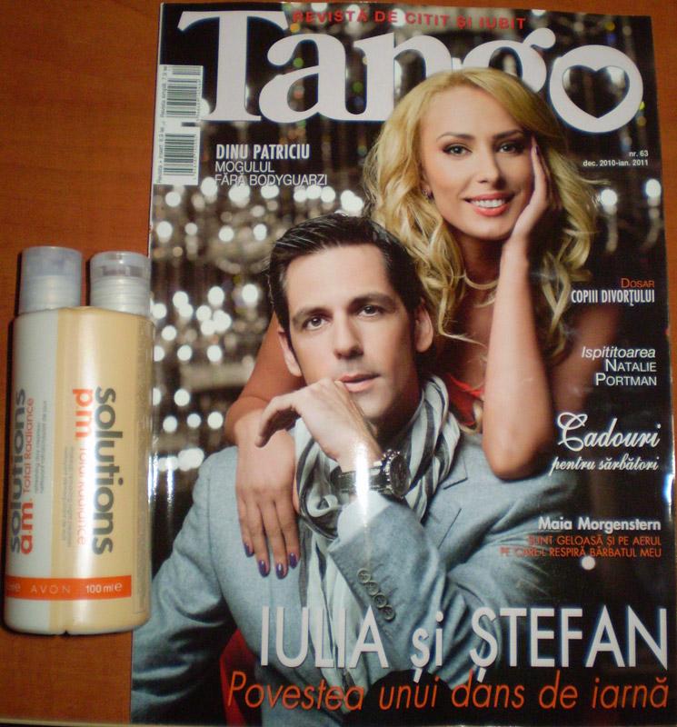 Tango ~~ Coperta si insert Avon ~~ Decembrie 2010