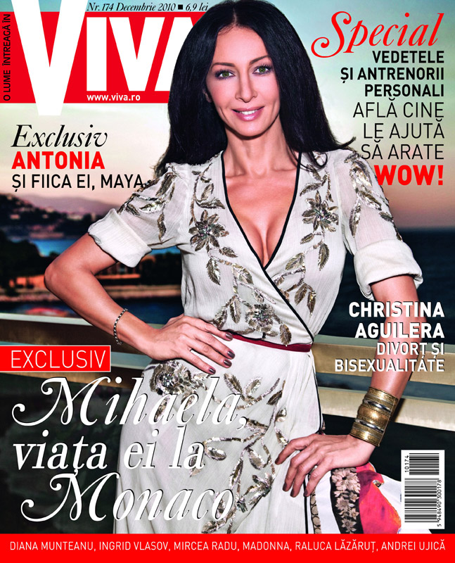 Viva ~~ Coperta: Mihaela Radulescu ~~ Decembrie 2010