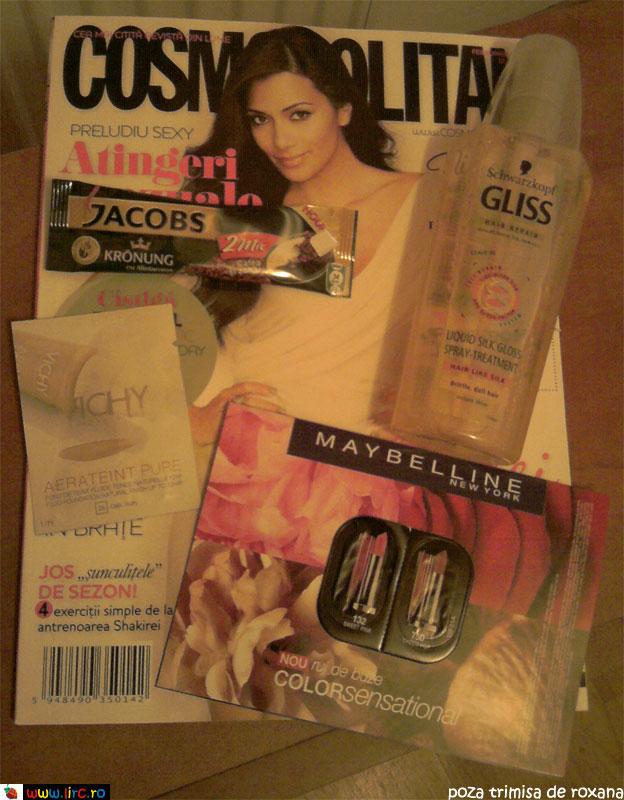 Cosmopolitan ~~ Inserturi si cadou ~~ Februarie 2010
