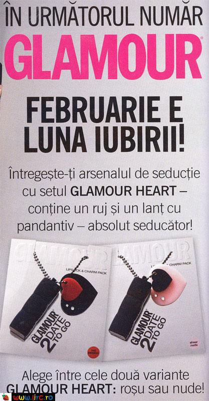 Promo Glamour ~~ Set Glamour Heart ~~ Februarie 2010