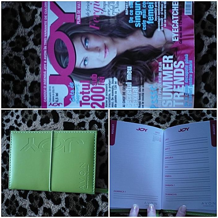 Joy ~~ Cadou: Agenda 2010 Joy & Avon ~~ Februaire 2010