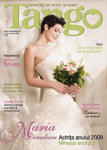 Tango ~~ Coperta: Maria Dinulescu ~~ Februarie 2010