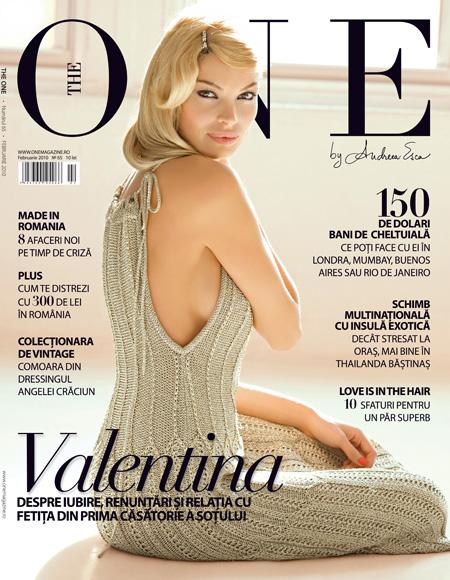 The One ~~ Coperta: Valentina Pelinel ~~ Februarie 2010