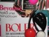 Brosele de plastic colorate, cadou la revista Bolero ~~ Februarie 2010