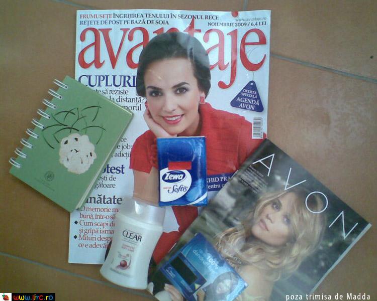 Avantaje ~~ Cadouri si mostre ~~ Noiembrie 2009