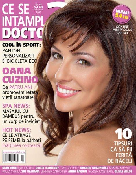 Ce se intampla, Doctore? ~~ Coperta: Oana Cuzino ~~ Noiembrie 2009