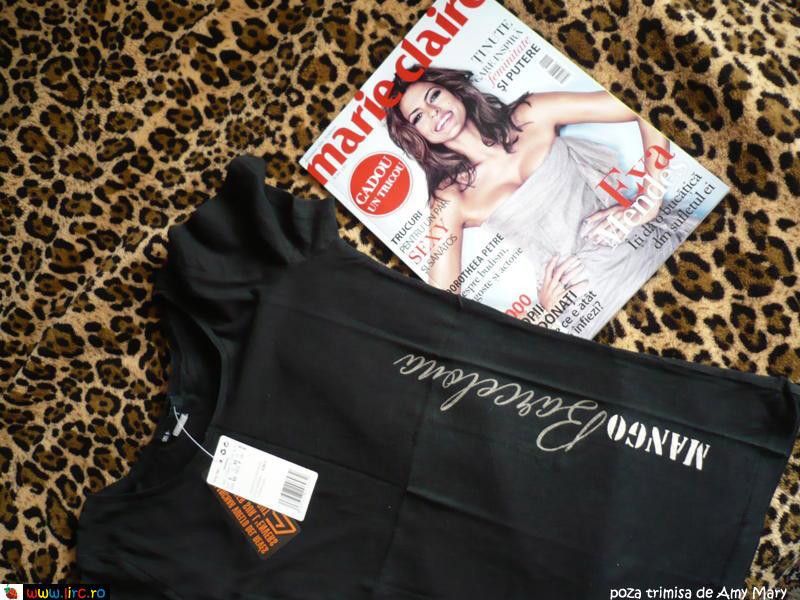 Marie Claire ~~ Cadou tricou Mango ~~ Noiembrie 2009