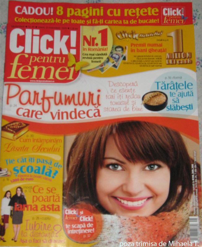 Click pentru femei ~~ 13 Noiembrie 2009