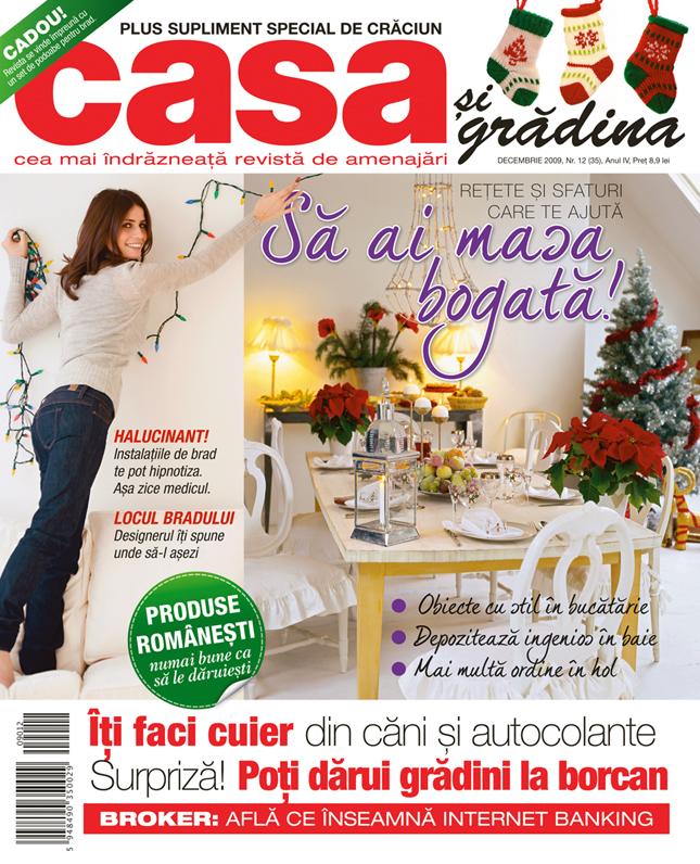 Casa si Gradina ~~ Decembrie 2009