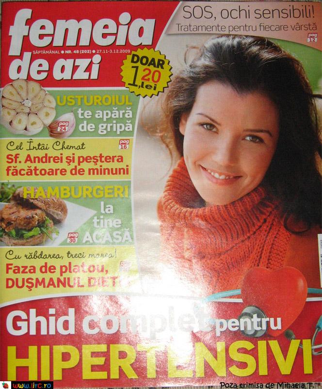 Femeia de azi ~~ 27 Noiembrie - 03 Decembrie 2009