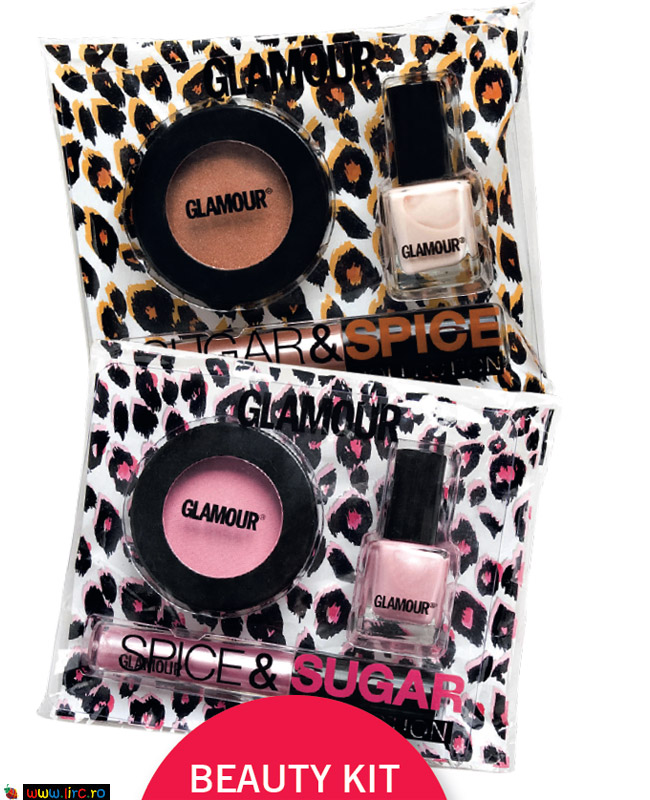 Glamour Romania ~~ Beauty Kit Glamour Sugar&Spice ~~ Decembrie 2009