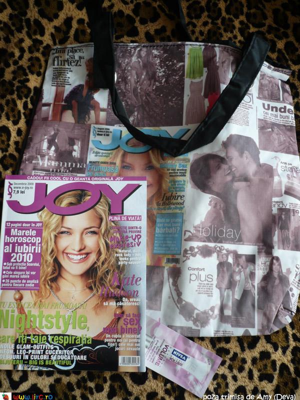 Joy ~~ Geanta Colaje din revista Joy ~~ Decembrie 2009