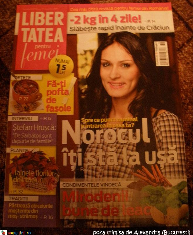 Libertatea pentru femei ~~ Decembrie 2009