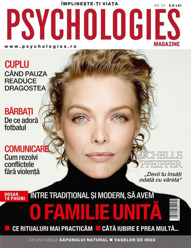 Pshychologies ~~ Coperta: Michelle Pfeiffer ~~ Decembrie 2009