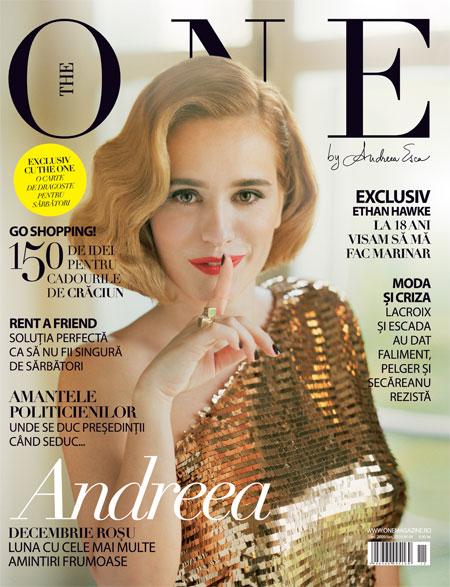 The One ~~ Coperta: Andreea Esca ~~ Decembrie 2009-Ianuarie 2010