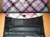 Portofel roz cu model Ecosez