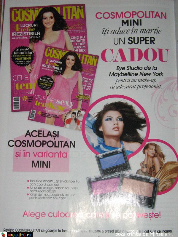 Cosmopolitan Romania ~~ Promo Martie 2010