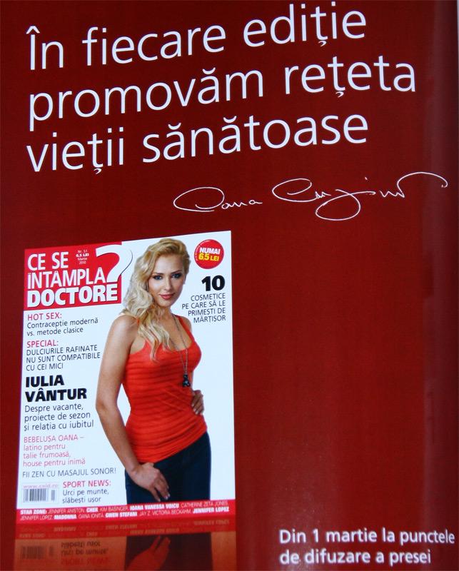 Ce se intampla, Doctore? ~~ Coperta: Iulia Vantur ~~ Martie 2010