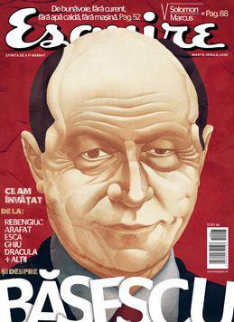 Esquire Romania ~~ Martie - Aprilie 2010