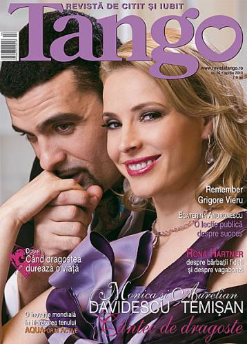 Tango ~~ Coperta: Monica Davidescu si Aurelian Temisan ~~ Aprilie 2010