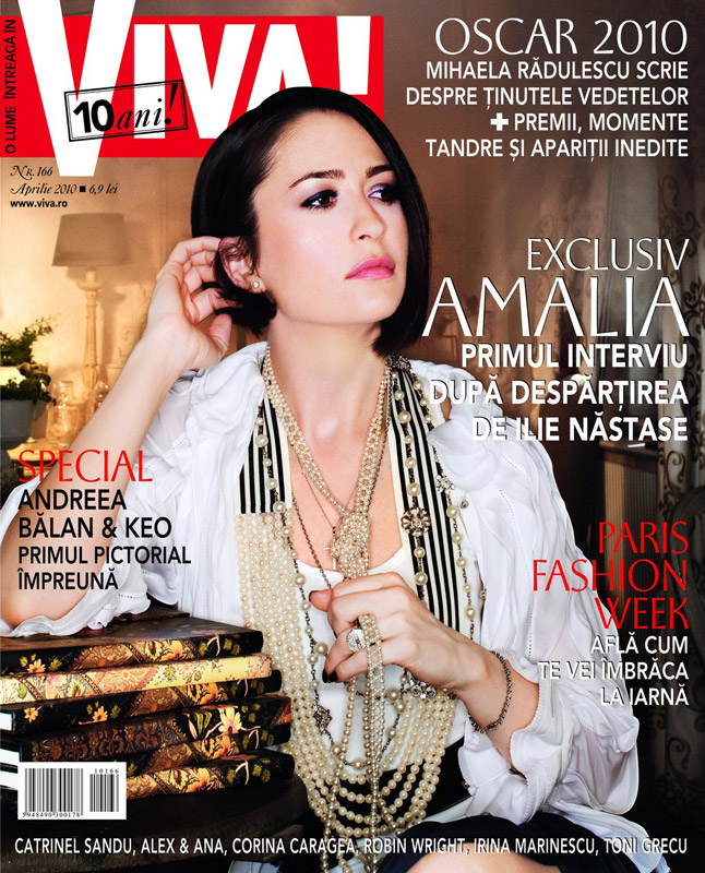 Viva! ~~ Coperta: Amalia Nastase ~~ Aprilie 2010