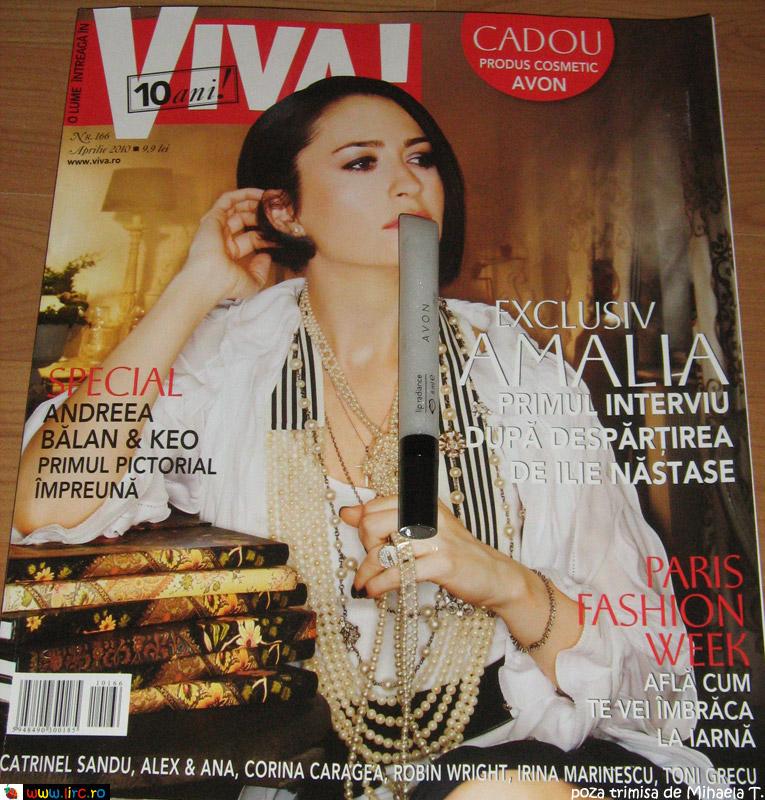 Viva! ~~ Cadou produs cosmetic ~~ Aprilie 2010
