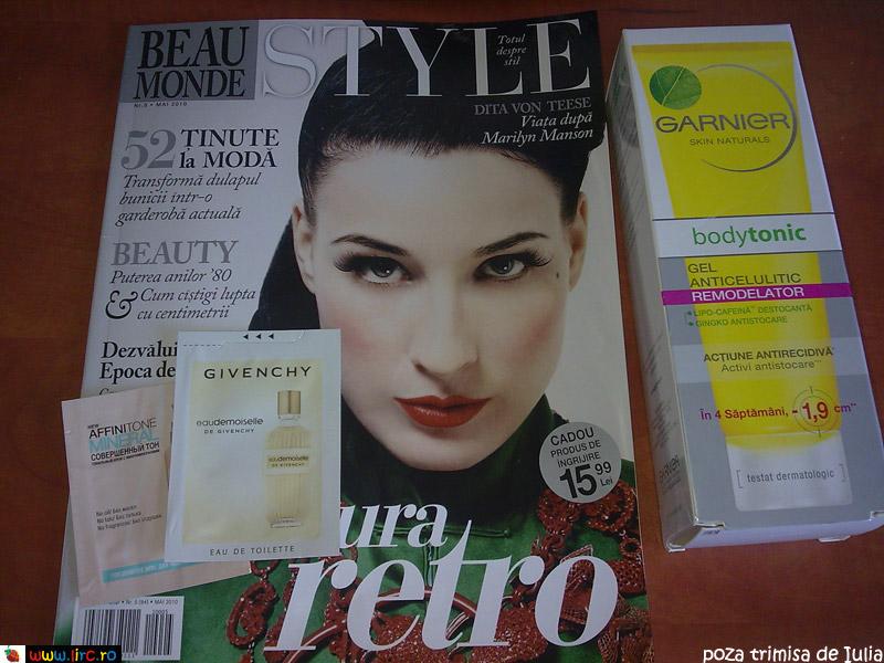 Beau Monde Style ~~ Cadou si mostre ~~Mai 2010