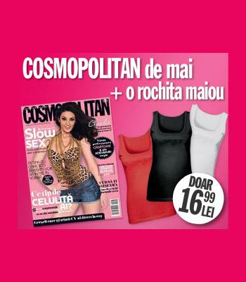 Cosmopolitan Romania ~~ Promo rochie-maiou de vara ~~ Mai 2010