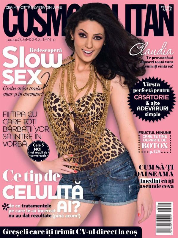 Cosmopolitan Romania ~~ Coperta: Claudia Pavel ~~ Mai 2010