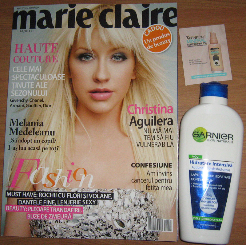 Marie Claire Romania ~~ Cadou si mostra ~~ Mai 2010