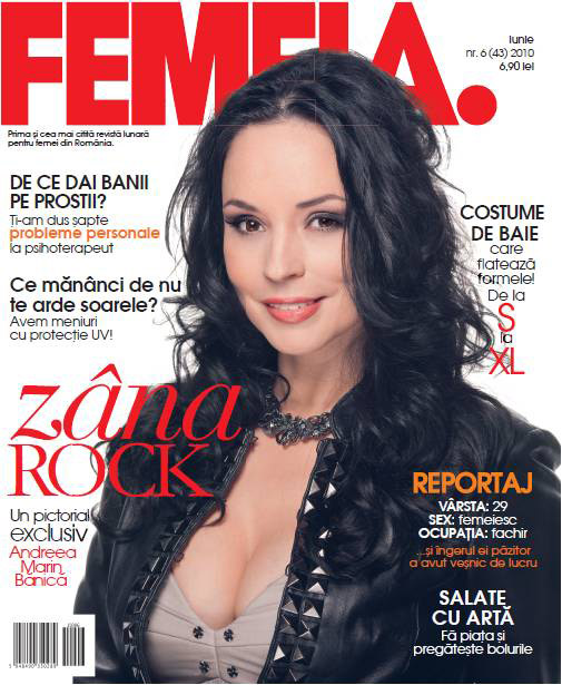 FEMEIA. ~~ Coperta: Andrea Marin Banica ~~ Iunie 2010
