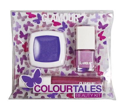 Kitul de make-up Glamour Colour Tales Purple ~~ cadoul Glamour de Iunie 2010