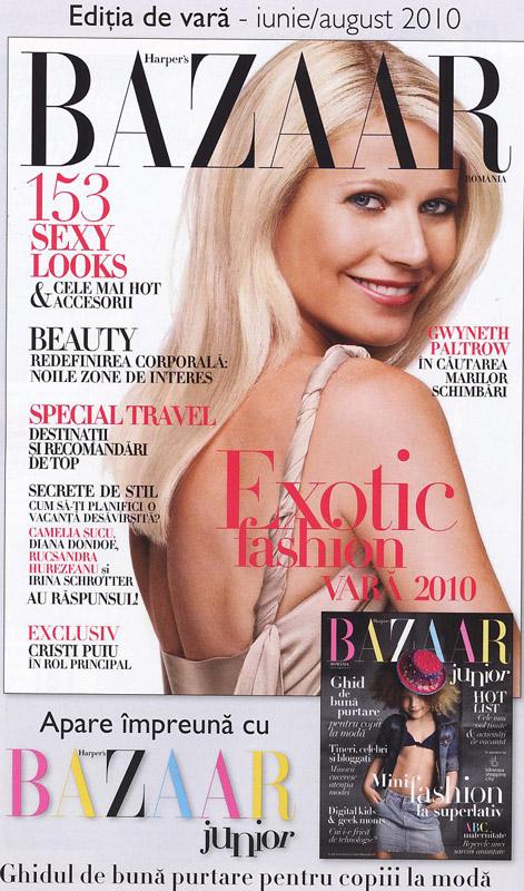 Harper´s Bazaar România ~~ Cover girl: Gwyneth Paltrow ~~ Iunie-August 2010