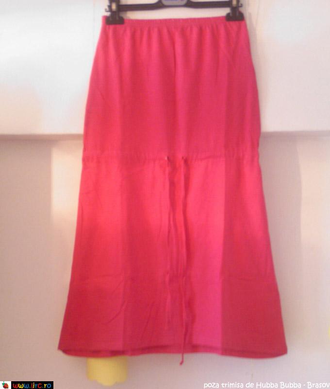 Rochia roz de vara, cadou la Marie Claire ~~ Iulie 2010